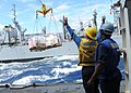 US Navy 100918-N-2821G-292 USS Cape St. George conducts underway replenishment.jpg