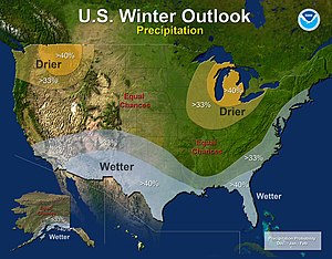 2014–15 North American winter - Precipitation Outlook