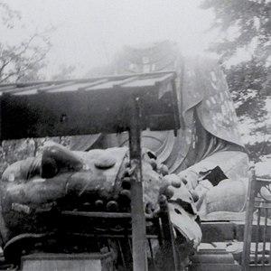 Ueno Daibutsu - Image: Ueno Daibutsu headless 1923