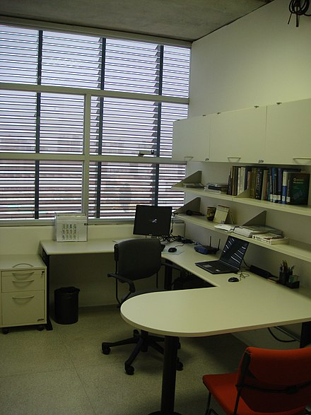 Teacher's room in Block A - Universidade Federal do ABC