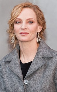 Uma Thurman , the inspiration for the song.
