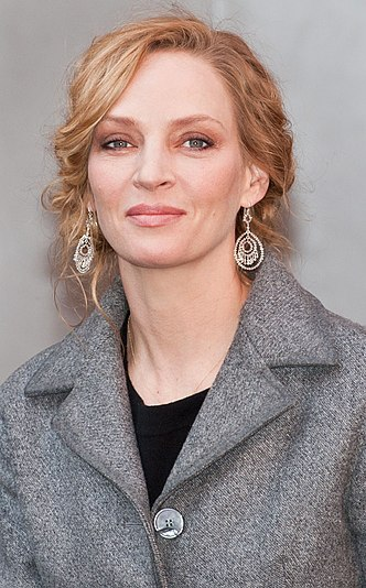 Thurman at the 64th Berlin International Film Festival in February 2014 Uma Thurman 2014 (cropped).jpg