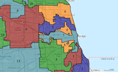 Illinoiss Congressional Districts - Map of illinois us house of representatives districts