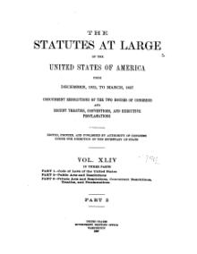 United States Statutes at Large Volume 44 Part 2.djvu