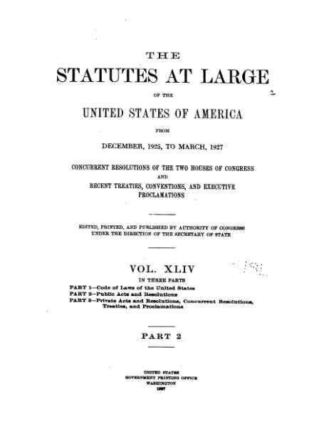 File:United States Statutes at Large Volume 44 Part 2.djvu