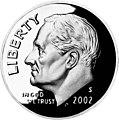 United States dime, obverse, 2002.jpg