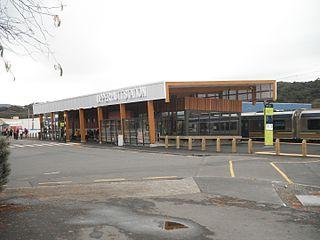 Upper Hutt railway station railway station