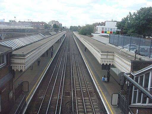 Upton Park tube station 6