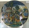 Urbino, bottega di flaminio fontana, storia di claudia quinta, xvi sec.JPG