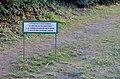 Useless Do not step in the lawn sign at Schönbrunn 01.jpg