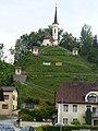 Uttendorf-Kreuzweg mit Schlosskapelle.jpg