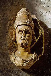 Bust of Clement VII in the Musée de Petit Palais in Avignon
