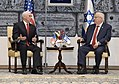 VP Mike Pence meets President Reuven Rivlin (24991750647).jpg