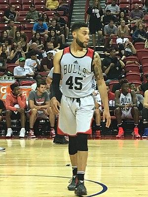 Denzel Valentine - Valentine during the 2017 NBA Summer League.
