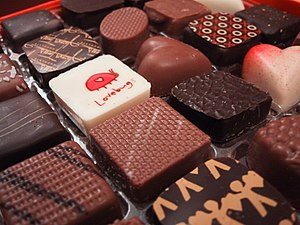 Jacques Torres chocolates...mmmm
