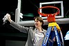 Tara VanDerveer at Spokane Regional in the 2011 NCAA Women's Basketball Tournament March 28, 2011