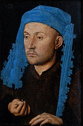 Portrait of a Man with a Blue Chaperon
