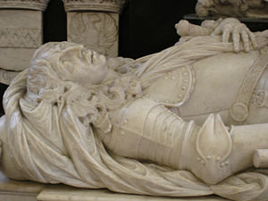 Willem Joseph van Ghent - Ghent's tomb effigy in the Domkerk in Utrecht