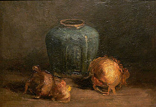 Still Life with Ginger Jar and Onions