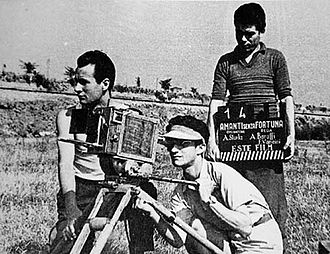 Florestano Vancini - Vancini, on the right (1949)