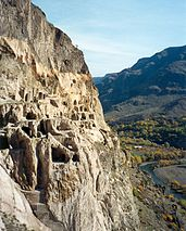 Vardzia cave city, Georgia
