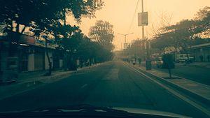 Varthur - Image: Varthur road, Bangalore (13945201583)