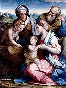 Vasari, Giorgiodel Sarto, Andrea - Holy Family - Google Art Project
