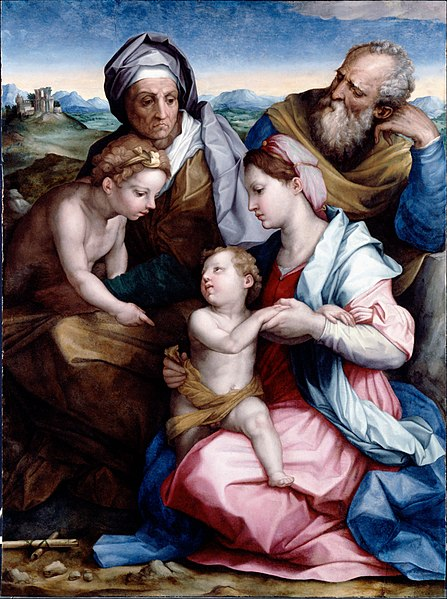 File:Vasari, Giorgiodel Sarto, Andrea - Holy Family - Google Art Project.jpg