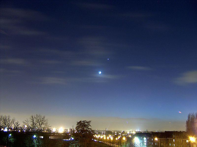 金星合月 - wuwei1101 - 西花社