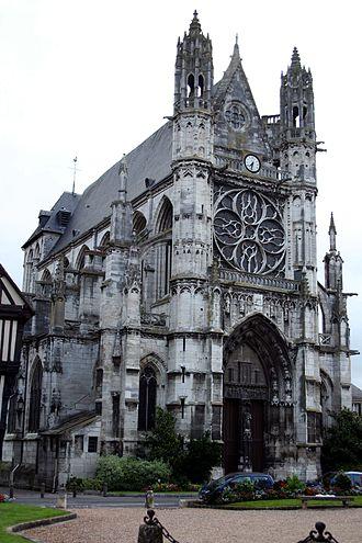 Vernon, Eure - Image: Vernon Église 01