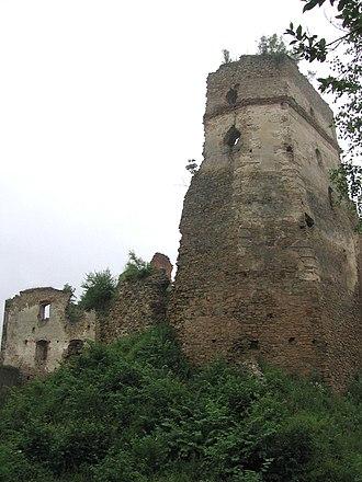 Zborov, Bardejov District - Zborov Castle