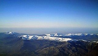 Sierra de Guadarrama mountain range