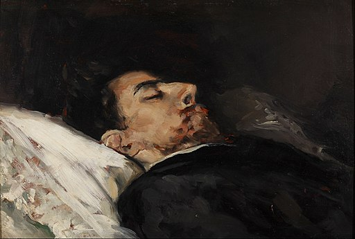 Vicente Palmaroli - Gustavo Adolfo Bécquer on his Death Bed - Google Art Project