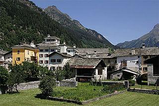 Vicosoprano Former municipality of Switzerland in Graubünden