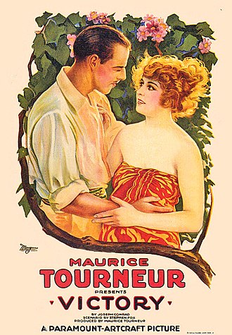 Victory (1919 film) - Theatrical poster