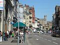 View from St Mary Street towards Cardiff Castle, May 2009.jpg