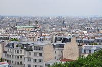 View from the Basilique du Sacré-Cœur de Montmartre, Paris 26 July 2010 001.jpg