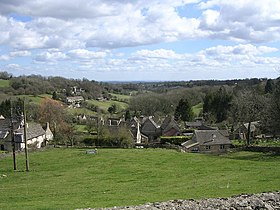 View of Chedworth from Church Graveyard - geograph.org.uk - 343679.jpg