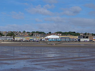 Hunstanton - Image: View of Hunstanton Front From The Beach