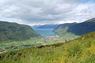 Vik Municipality in Sogn og Fjordane, Norway