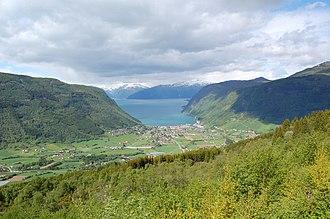 Vik - Image: Vik Sogn og Fjordane 2009