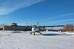 Viking DHC-6 Twin Otter Aurora Airlines parked in Dalnerechensk.jpg