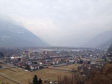 Panorama della periferia di Villadossola
