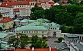 Vilnius Universitetas Šv. Jono Bažnycios Bokštas Blick auf die Lietuvos Respublikos Prezidento Kanceliarija 4.jpg