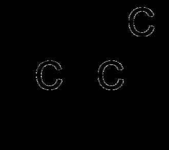 Vinyl chloride - Image: Vinyl chloride 2D