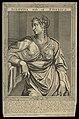 Vipsania Agrippina, wife of Tiberius Caesar. Line Wellcome L0050548.jpg
