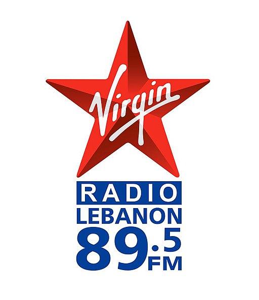 Virgin radio logo Lebanon
