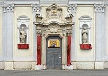 Virle Saint Peter and Paul church portal.jpg