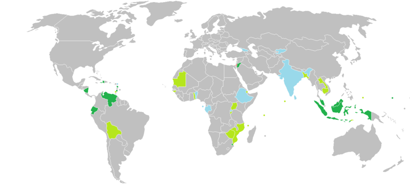 Visa Requirements Mapedit