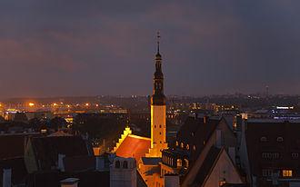 Church of the Holy Spirit, Tallinn - Image: Vistas panorámicas desde Toompea, Tallinn, Estonia, 2012 08 05, DD 33